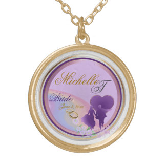 Customizable Brides Keepsake Necklace