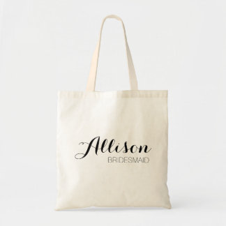 Customizable Bridesmaid Tote
