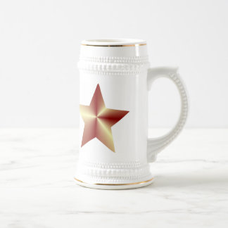 Customizable Bronze Star Beer Steins