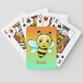 Customizable Bumblebee Playing Cards