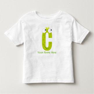 Customizable C Letter T-Shirt
