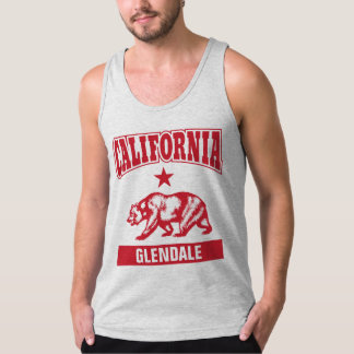 Customizable Californian City Name Tank Top
