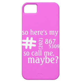 Customizable Call Me Maybe Phone Case Barely There iPhone 5 Case