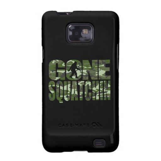 Customizable Camo Gone Squatchin Galaxy SII Covers