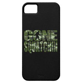 Customizable Camo Gone Squatchin iPhone 5 Cases