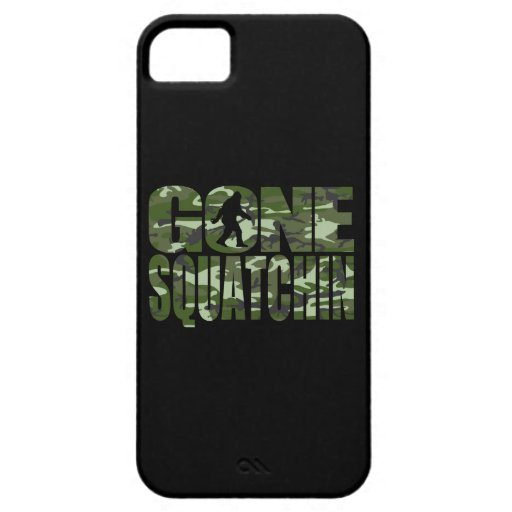 Customizable Camo Gone Squatchin iPhone 5 Case
