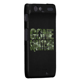 Customizable Camo Gone Squatchin Droid RAZR Cover