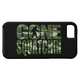 Customizable Camo Gone Squatchin iPhone 5/5S Cover