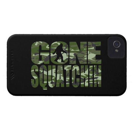 Customizable Camo Gone Squatchin iPhone 4 Covers