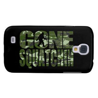 Customizable Camo Gone Squatchin Galaxy S4 Covers