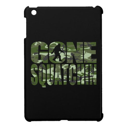 Customizable Camo Gone Squatchin iPad Mini Cover