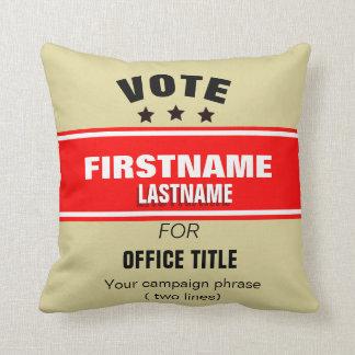 Customizablecampaign Cushion
