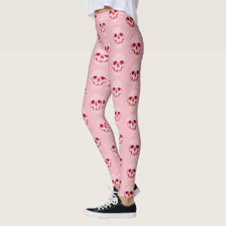 Customizable Candy Pop Babygirl Skull Leggings