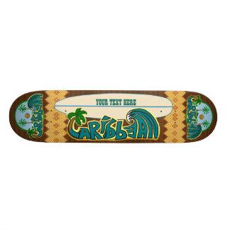Customizable Caribbean Epics Edition 21.3 Cm Mini Skateboard Deck
