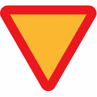 CUSTOMIZABLE Caution Sign Photo Cut Out