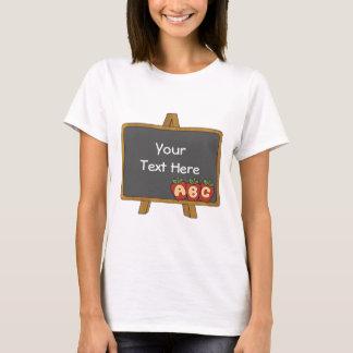 Customizable Chalkboard T-Shirt