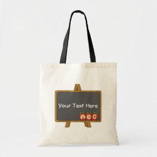 Customizable Chalkboard Teacher Bag