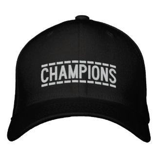 Customizable Champions Embroidered Baseball Cap