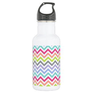 Customizable | Chevron Stripes 532 Ml Water Bottle
