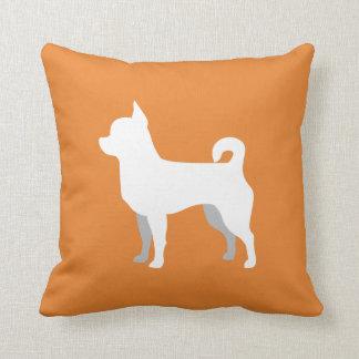Customizable Chihuahua Silhouette Pillow