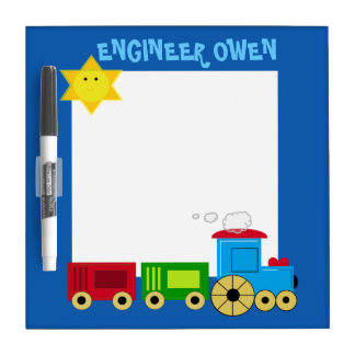 CUSTOMIZABLE CHILD'S  DRY ERASE BOARD
