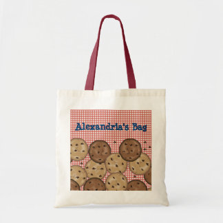 Customizable Chocolate Chip Cookies Tote Bag