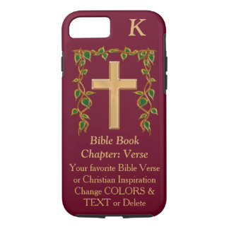 Customizable Christian Phone Cases YOUR TEXT