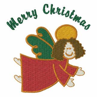 Customizable Christmas Angel Emb Tees Sweats