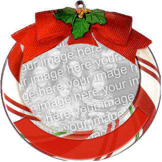 Customizable Christmas Ornament Standing Photo Sculpture