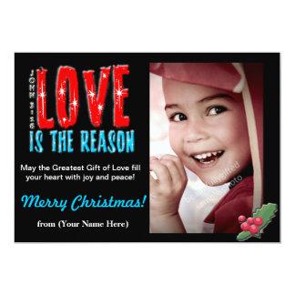 Customizable Christmas Photo Greeting Card 5x7 13 Cm X 18 Cm Invitation Card