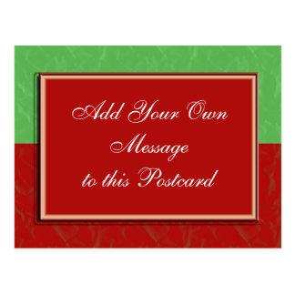 Customizable Christmas Postcard