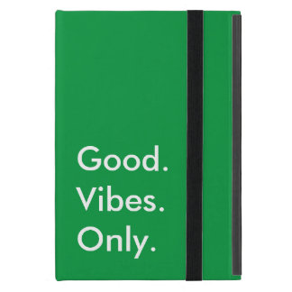 Customizable Color Good. Vibes. Only. Motivational Cover For iPad Mini