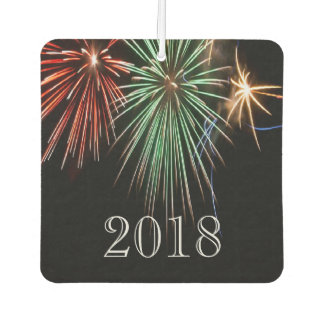 Customizable - Colorful Fireworks  - 2018 Car Air Freshener