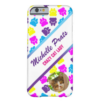 Customizable Crazy Cat Lady Apple iPhone 6/6s Case