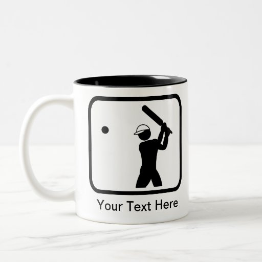 Customizable Cricket Logo Coffee Mug