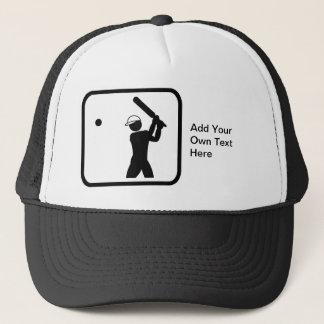 Customizable Cricket Logo Trucker Hat