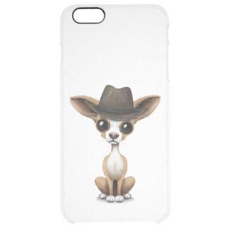 Customizable Cute Chihuahua Puppy Cowboy iPhone 6 Plus Case