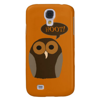 Customizable Cute Hoot Owl Galaxy S4 Case