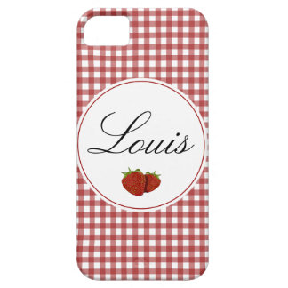 Customizable Cute Strawberry Case For The iPhone 5