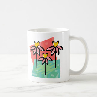 Customizable Daisy Heart Tees and Gifts Coffee Mug