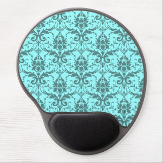 Customizable damask gel mouse mat