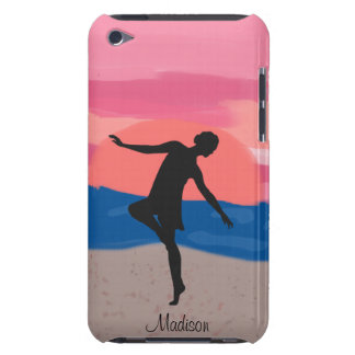 Customizable Dancer on the Beach at Sunset iPod Case-Mate Case