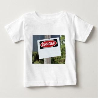 Customizable Danger Sign Baby T-Shirt