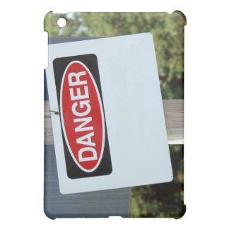Customizable Danger Sign iPad Mini Case