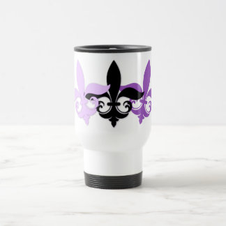 Customizable Decorative Fleur De Lis Gifts, Tees Travel Mug
