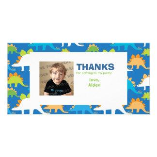 Customizable DINO-mite Photo Card