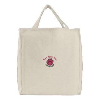 Customizable Dog Groomer Tote Bag