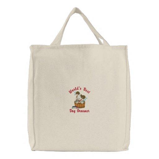 Customizable Dog Groomer Tote Bag - Add Name