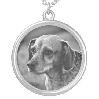 Customizable Dog Photo Necklace