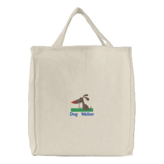 Customizable Dog Walker Tote Bags